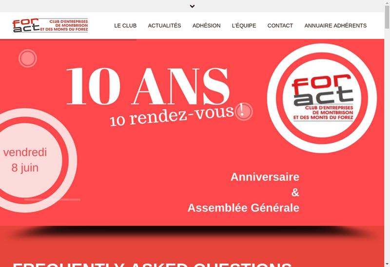 Capture d'écran du site de Fs Consult