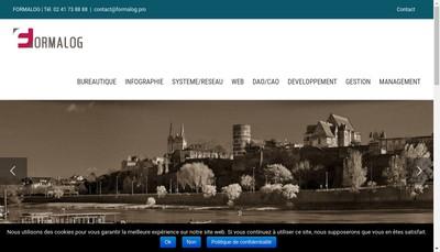 Site internet de Formalog