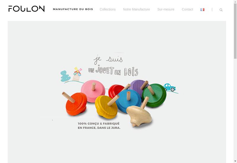 Capture d'écran du site de Foulon