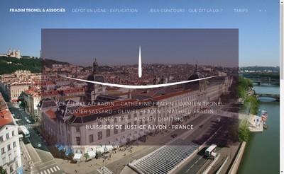 Site internet de Fradin Tronel Sassard & Associes