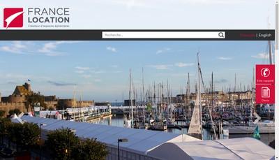 Site internet de France Location Expo