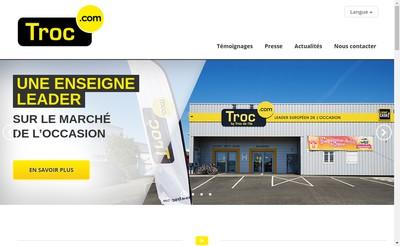 Site internet de Troc Europe