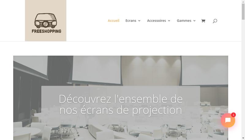 Capture d'écran du site de Euclidia