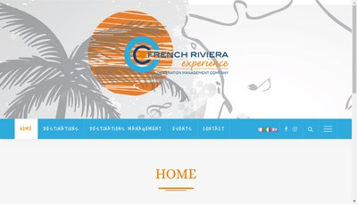 Site internet de French Riviera Experience