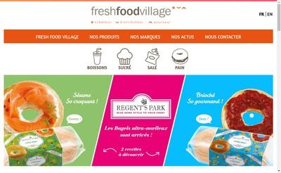 Site internet de Fresh Food Village