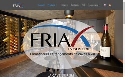 Site internet de Friax Industrie