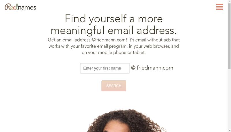 Capture d'écran du site de Etablissements Friedmann