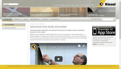 Site internet de Kiesel
