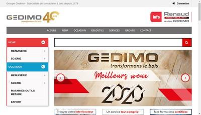 Site internet de Gedimo Nantaise