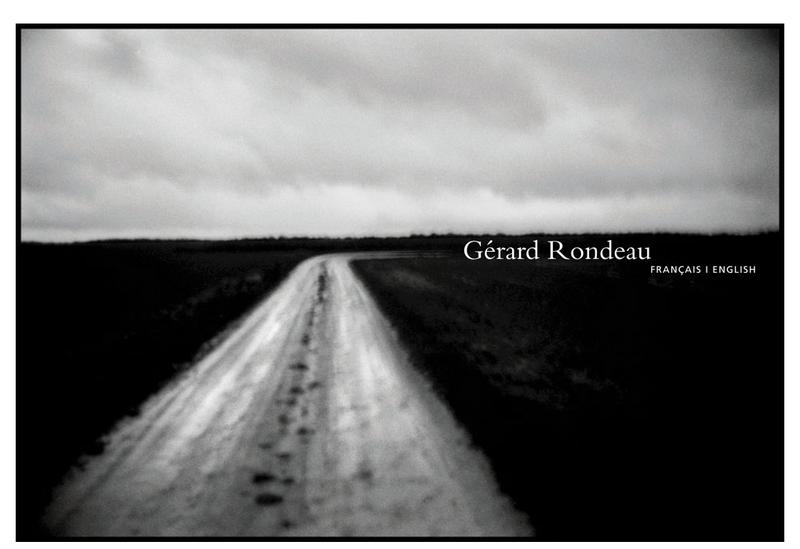 Capture d'écran du site de Gerard Rondeau