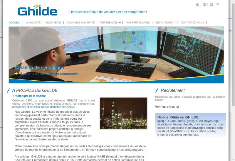 Capture d'écran du site de Nova Media