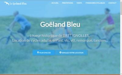 Site internet de Le Goeland Bleu