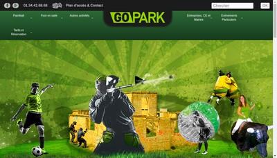 Site internet de Paintball Connexion Wicked Sportz Distribution