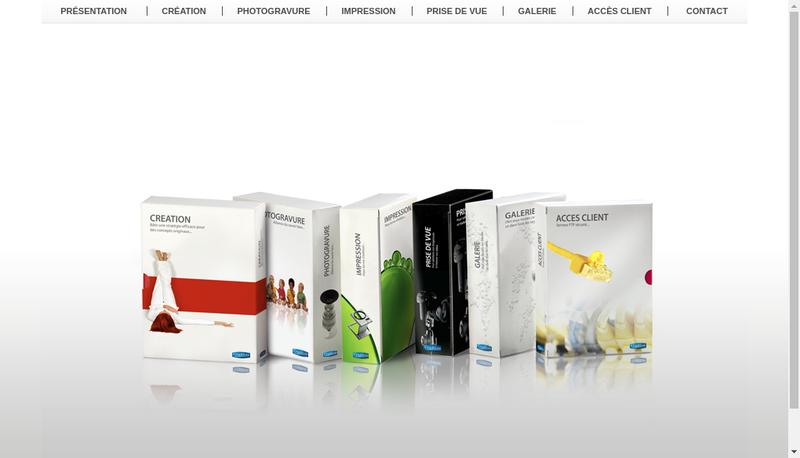 Capture d'écran du site de Graphium