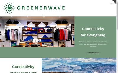 Site internet de Greenerwave