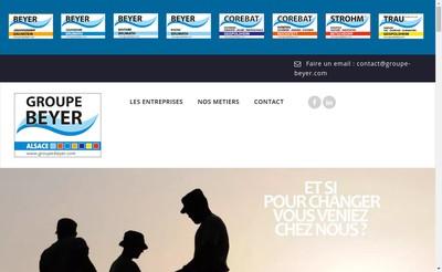Site internet de Corebat Entretien