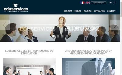Site internet de Eduservices Management
