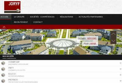 Capture d'écran du site de Itb 77