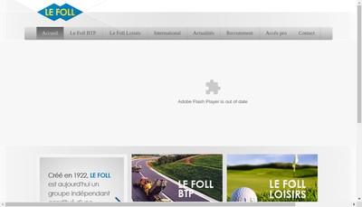 Site internet de Beton Rationnel Normand Brn