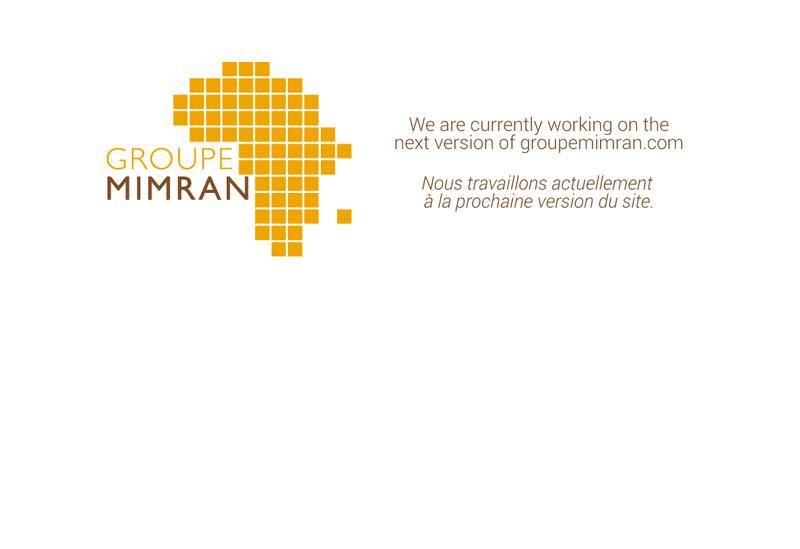 Capture d'écran du site de Groupe Mimran