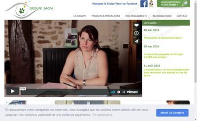 Site internet de Sacpa