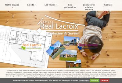 Capture d'écran du site de Vcf Normandie Centre