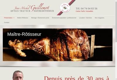Site internet de Jean Michel Guillemot Traiteur