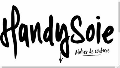 Capture d'écran du site de Handysoie
