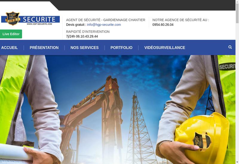 Capture d'écran du site de Haute Garonne Protection