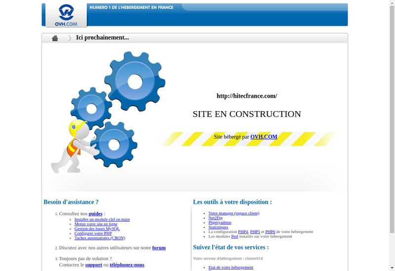 Capture d'écran du site de Francilienne d'Entreprise
