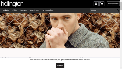 Capture d'écran du site de PHD