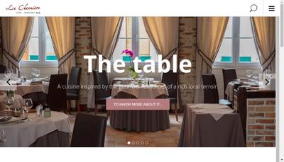 Site internet de La Chaumiere