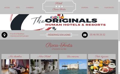 Site internet de Roca Fortis