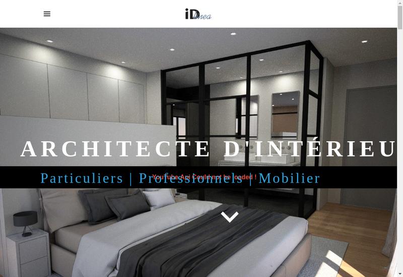Capture d'écran du site de Id Linea