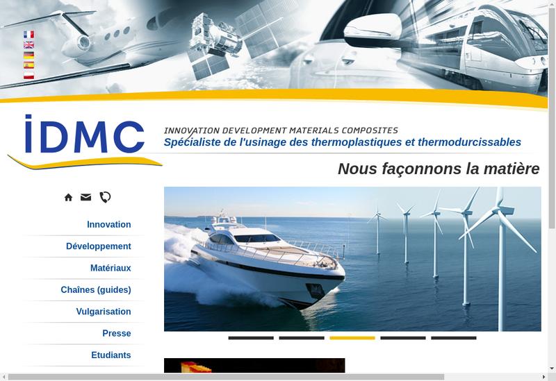 Capture d'écran du site de IDMC
