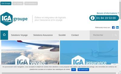 Site internet de Iga Pegase