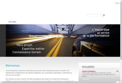 Site internet de Innov Business & Services