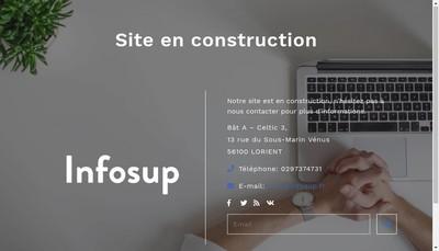 Site internet de Infosup
