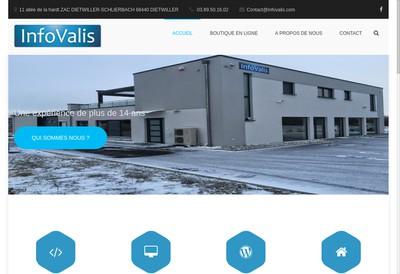 Site internet de Infovalis