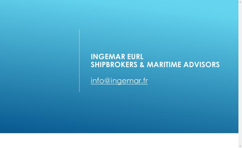 Capture d'écran du site de Ingemar