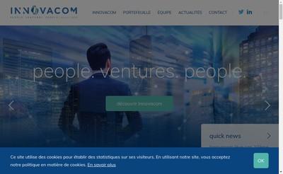 Site internet de Innovacom Gestion
