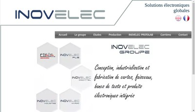 Site internet de Inovelec-Pls