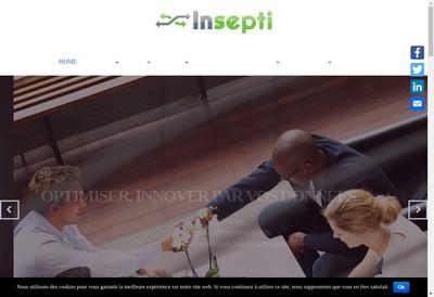 Site internet de Insepti