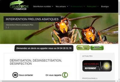 Site internet de Iratech France