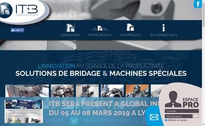 Site internet de Itb Innovation
