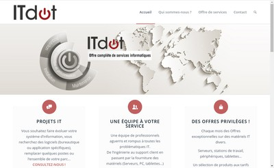 Site internet de Itdot