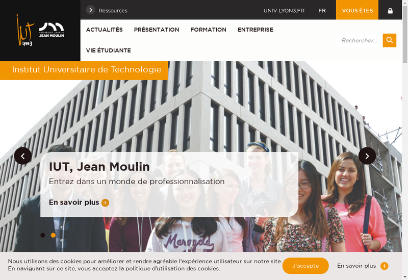 Capture d'écran du site de Hotel du Dauphin