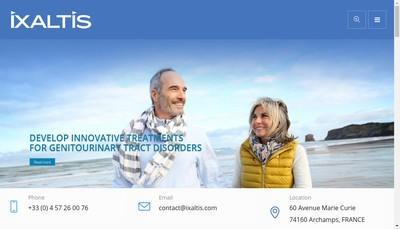 Site internet de Ixaltis