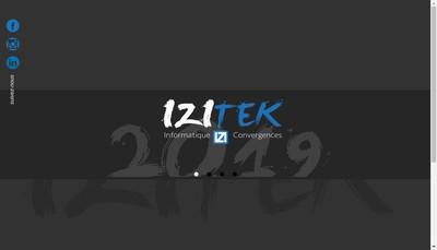 Site internet de Izitek