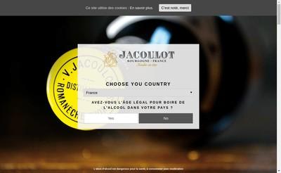 Site internet de Micollier Milanis Distillerie Bouhy